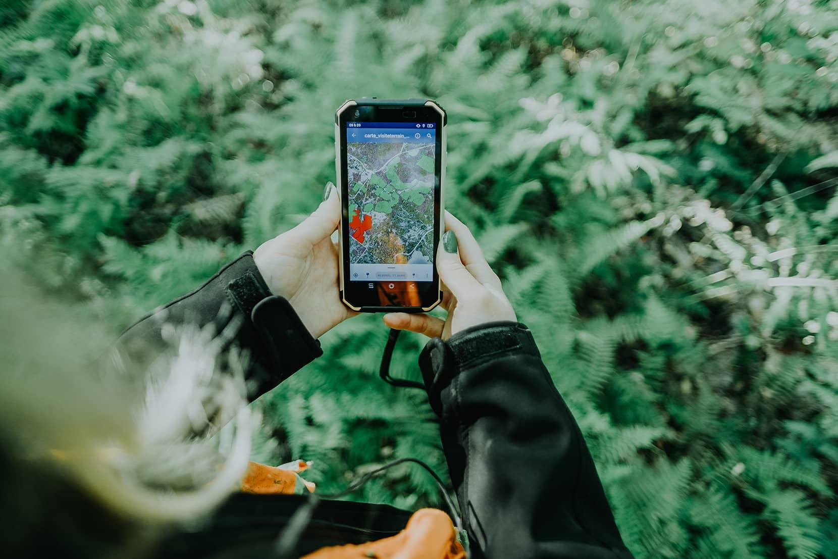 Laforêt - Cartographie et relevé GPS